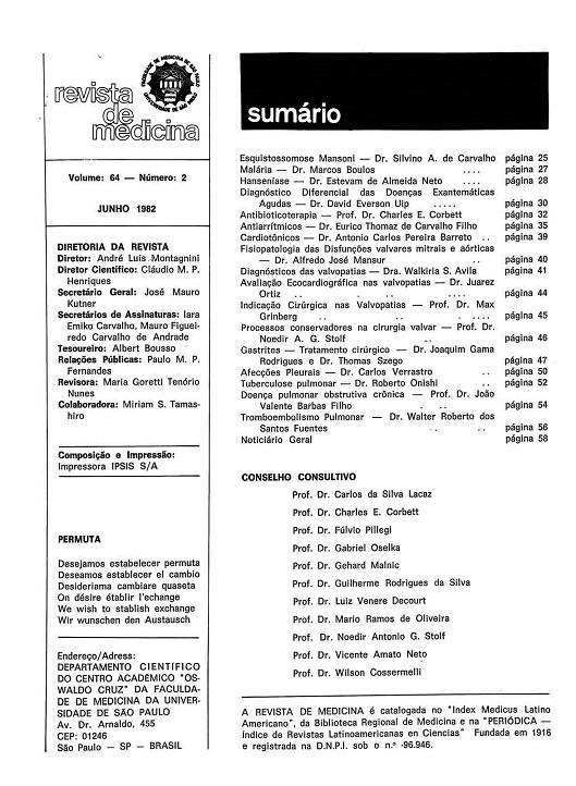 Visualizar v. 64 n. 2 (1982)