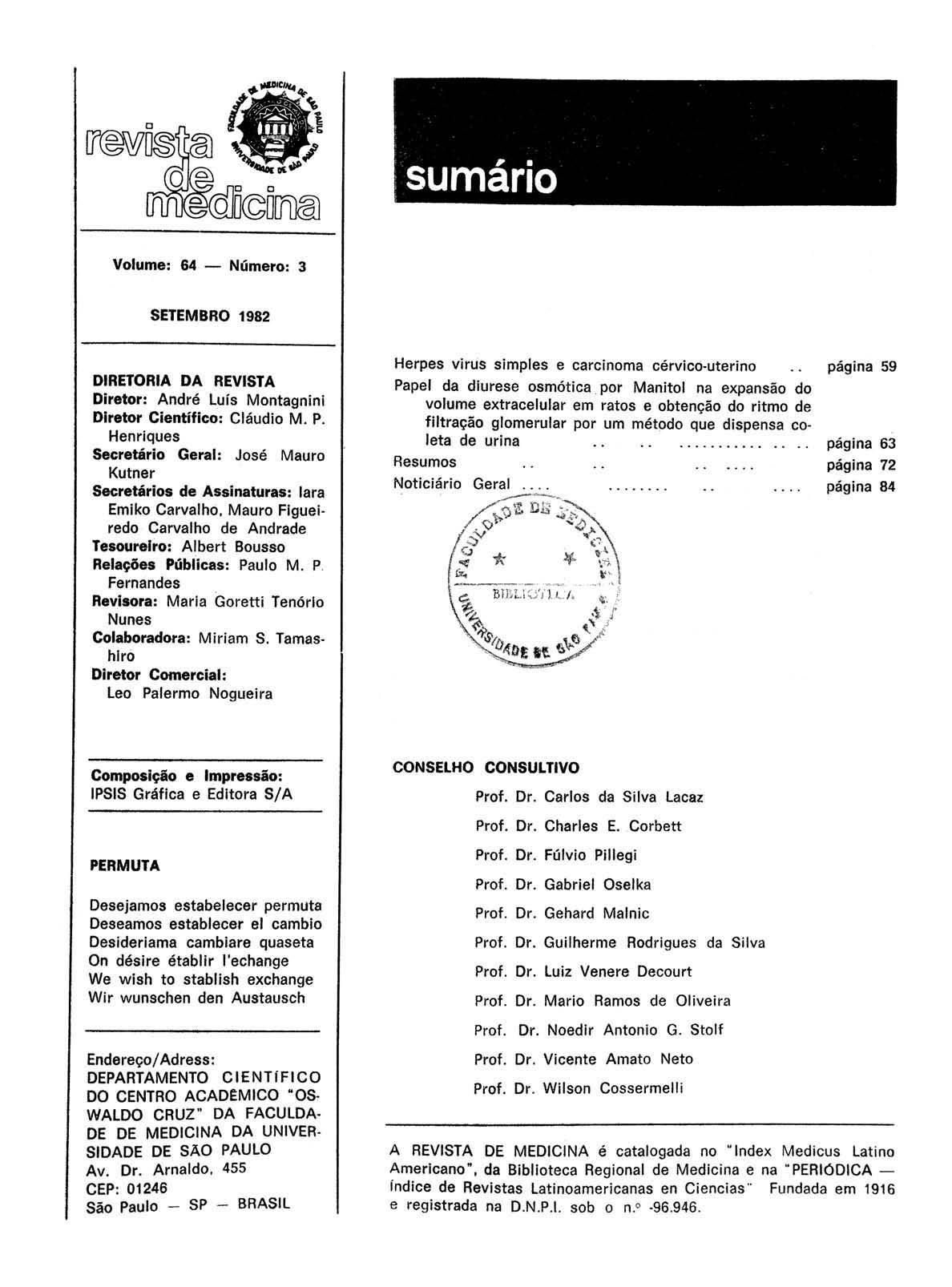Visualizar v. 64 n. 3 (1982)