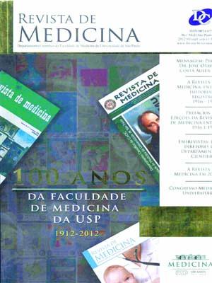 Visualizar v. 91 (2012): 100 Anos da Faculdade de Medicina da USP 1912-2012