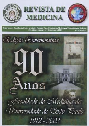 Visualizar v. 81 (2002): Edição Comemorativa 90 Anos da FMUSP 1912-2002