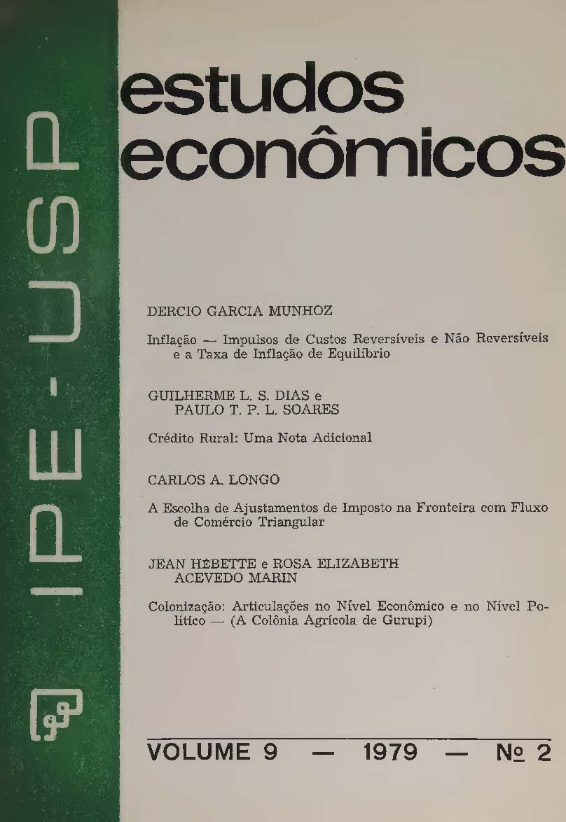 Visualizar v. 9 n. 2 (1979)