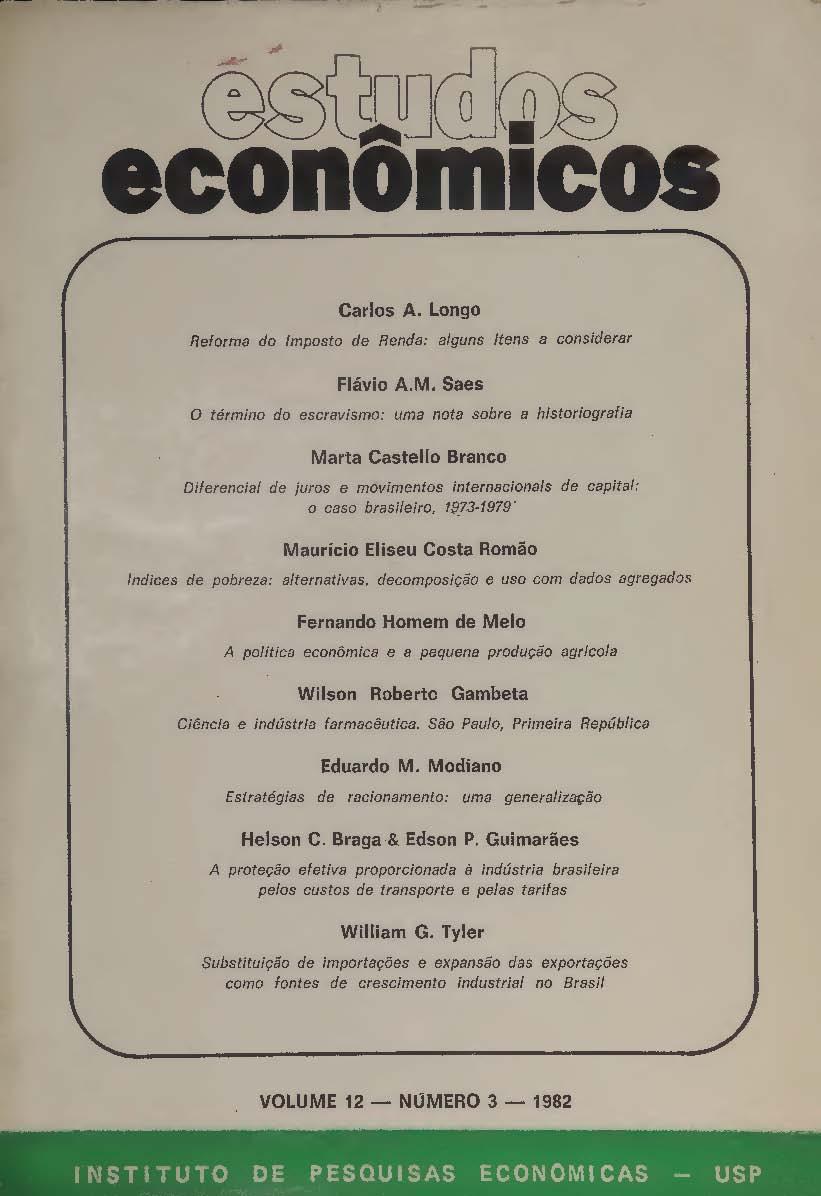 Visualizar v. 12 n. 3 (1982)