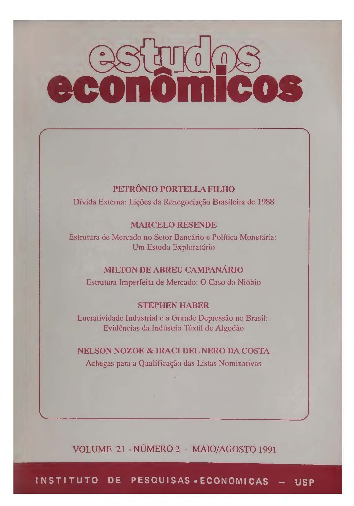 Visualizar v. 21 n. 2 (1991)