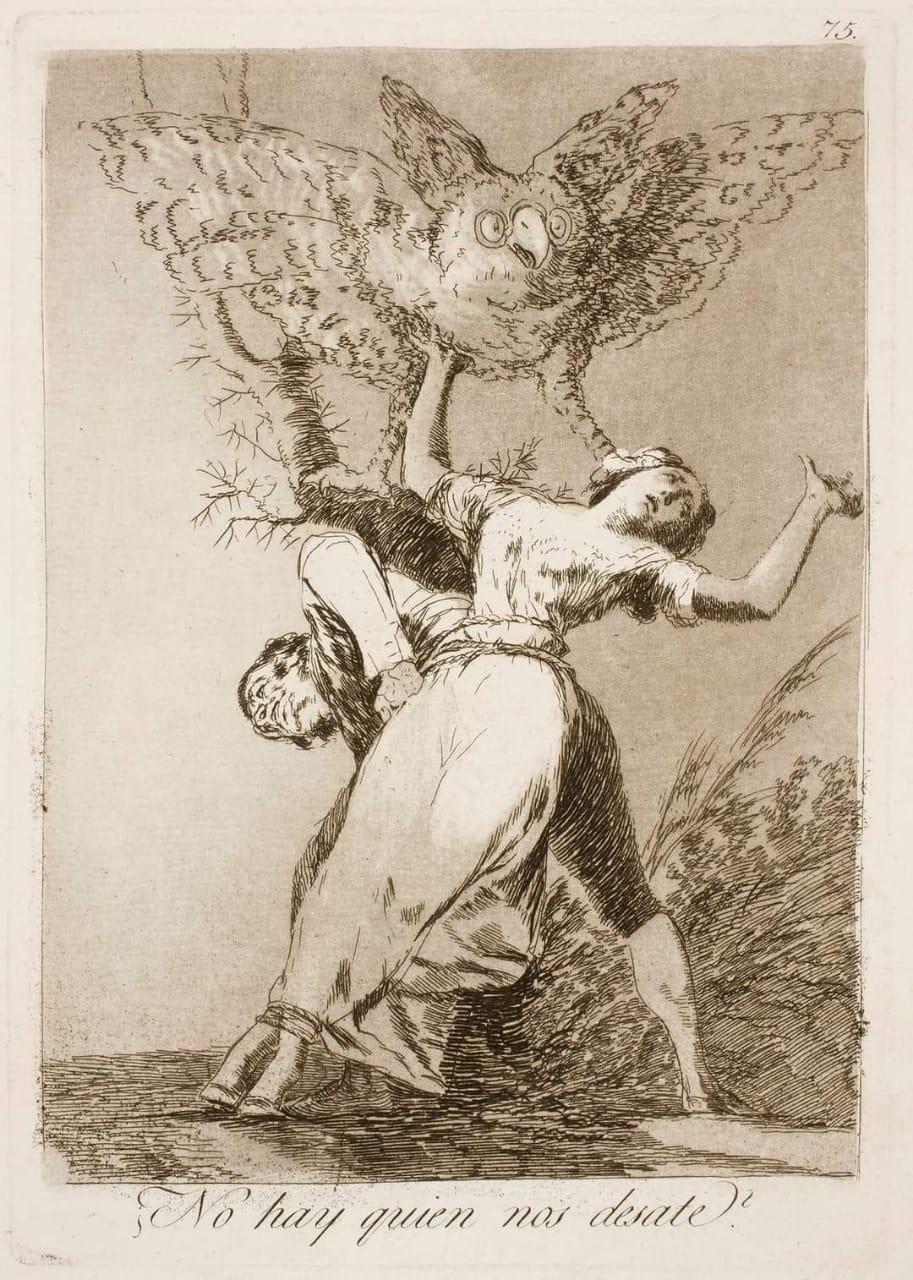¿No hay quien nos desate?, Francisco de Goya