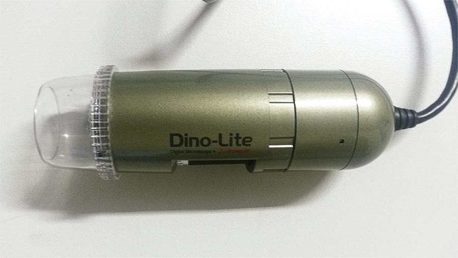 Dino-LiteAM4113ZT dermatoscope which features 1.3 Mega Pixel resolution and USB 2.0 interface.