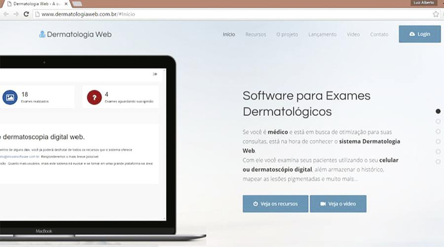- Software dermatologia web: this system is used for photographic documentation of dermatological treatments and encompasses photo storage functionality.